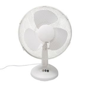 "Image of 12"" 3-Speed Desk fan"
