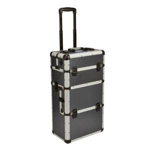 Mac Allister Aluminium Mobile Storage Case (H)670mm (W)225mm (L)370mm