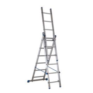 Mac Allister Triple Extension 6 Tread 4 In 1 Ladder