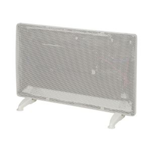 Electric 1500W White Panel Heater