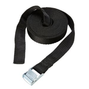 Image of Diall Black 2.5m Cambuckle tie down