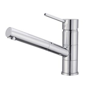 Image of Cooke & Lewis Jonha Chrome finish Kitchen Top lever tap