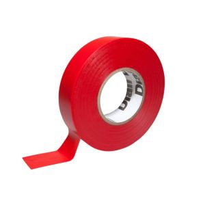 Photo of Diall red electrical tape -l-33m -w-19mm