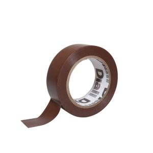 Photo of Diall brown electrical tape -l-10m -w-19mm