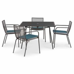 Adelaide Metal 4 Seater Dining Table