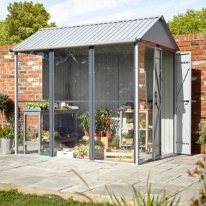 2.5x1.7 Indus Apex Greenhouse shed