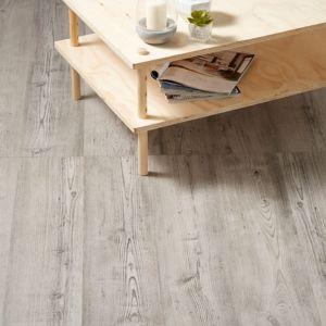 Bailieston Grey Oak effect Laminate flooring 1.996 m² Pack