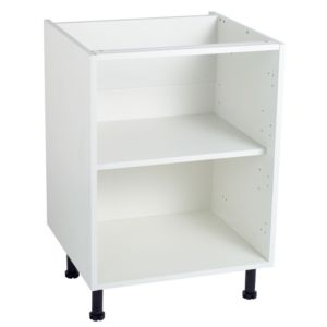 View Cooke & Lewis White Standard Base Cabinet Unit Carcass (W)600mm details