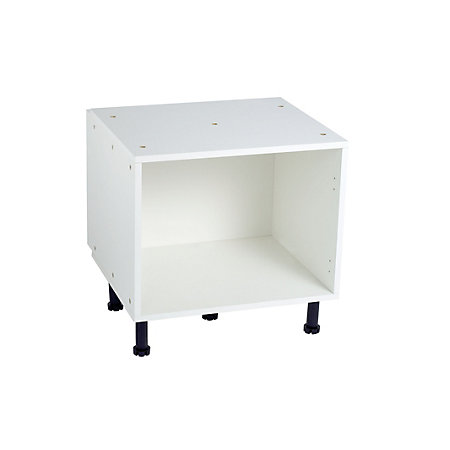 Cooke lewis black white belfast sink base sink carcass for Kitchen cupboard carcasses 600mm