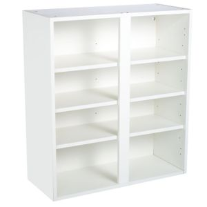 View Cooke & Lewis White Wall Unit Carcass (W)800mm details