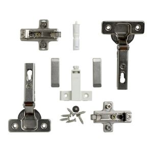 View Cooke & Lewis A+ Door Hinge, Set of 1 details