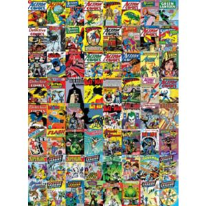 Image of 1Wall Creative Collage Dc Comics 64 Piece Creative Collage