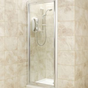View B&Q Square Shower Enclosure with Pivot Door (W)760mm (D)760mm details