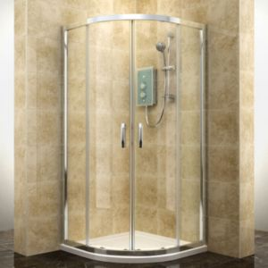 View Cooke & Lewis Deluvio Quadrant Shower Enclosure (W)800mm (D)800mm details