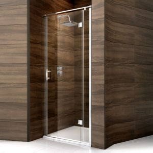 View Cooke & Lewis Cascata Pivot Shower Door (W)900mm details