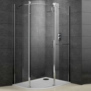 View Cooke & Lewis Eclipse Offset Quadrant Shower Enclosure LH (W)1200mm (D)900mm details