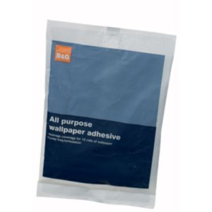 View B&Q Wallpaper Adhesive details