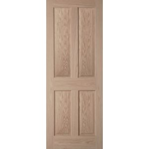 View 4 Panel Internal Door, (H)2040mm (W)626mm details