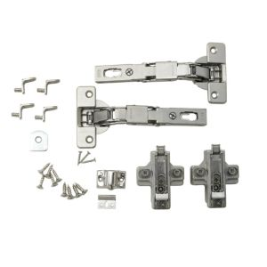 View Cooke & Lewis L Door Hinge, Set of 1 details