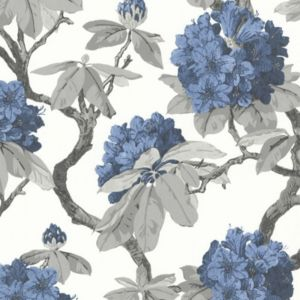 View Long Isalnd Floral Blue Wallpaper details