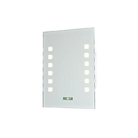 RadioStar Illuminated Bathroom Rectangular Mirror with FM ...