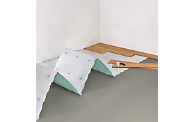 How to lay sheet vinyl help ideas diy at b q for Preparing floor for vinyl