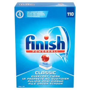 Image of Finish Classic Dishwasher tablets Pack of 110