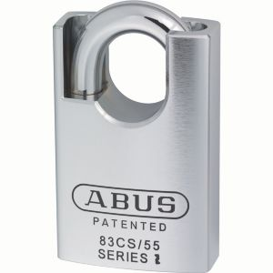 Abus 83 Series Cs Hardened Steel Keyed Padlock (W)55mm