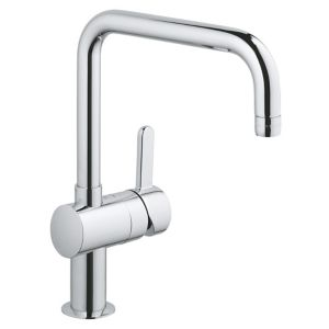 Image of Grohe Flair Chrome effect Kitchen Monobloc Mixer tap