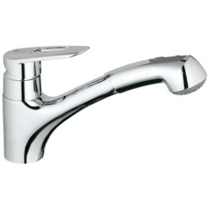 View Grohe Touch Chrome Effect Pull Out Tap details