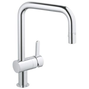 View Grohe Flair Chrome Effect Pull Out Tap details