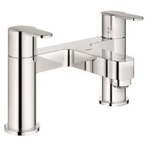 View Grohe Get Chrome Effect Deck Mounted Bath Filler Mixer Tap details