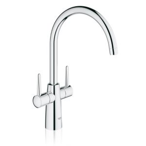 View Grohe Ambi Chrome Effect Monobloc Tap details