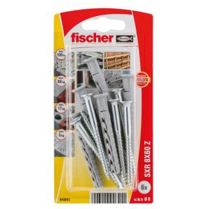 Image of Fischer Frame Fixing (Dia)8mm (L)60mm Pack of 6