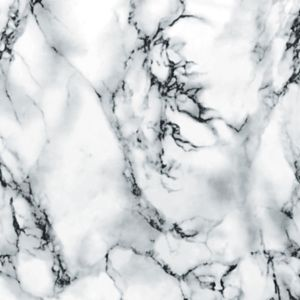 D-C-Fix Marmi Marble Effect White Self Adhesive Film (L)2M (W)450mm