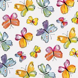 Image of D-C-Fix Butterflies Multicolour Self Adhesive Film (L)2M (W)450mm