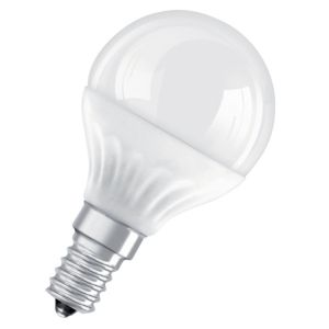 View Osram Small Edison Screw (E14) 3W LED Golf Ball Light Bulb details