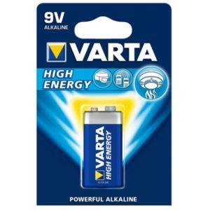 Image of Varta Longlife Power PP3 Alkaline Battery