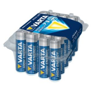 Image of Varta Longlife Power AA Alkaline Battery Pack of 24