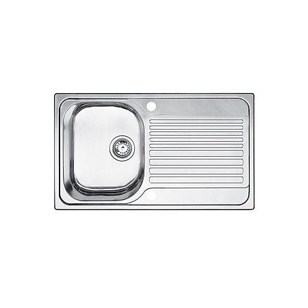 Blanco Toga Sink : View Blanco Toga 1 Bowl Stainless Steel Compact Sink & Drainer details