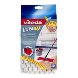 View Vileda Grey, Red & White Mop Refill details