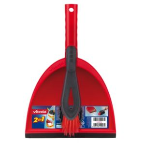 Image of Vileda 2 In 1 Dustpan & Brush