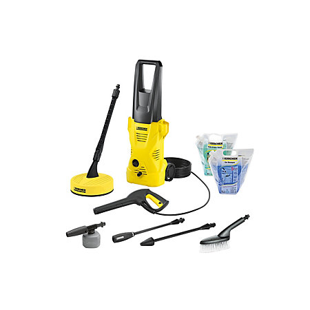 karcher k2 home car pressure washer 1400 w departments. Black Bedroom Furniture Sets. Home Design Ideas