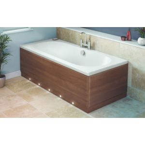 View Cooke & Lewis Walnut Effect Bath Front Panel (W)700mm details