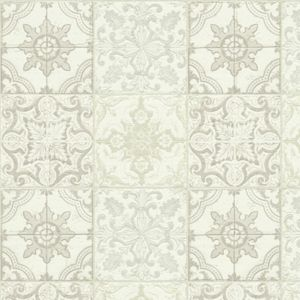 View Chatsworth Beige, Cream & White Mosaic Tile Wallpaper details