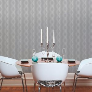 Image of A.S. Creation Life 4 Grey & White Matt Finish Wallpaper