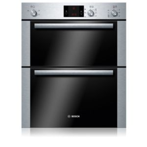 View Bosch HBM13B251B Electric Eye Level Double Oven details