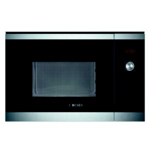 View Bosch Brushed Steel 900W Built In Microwave Oven details