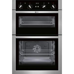 Neff U14M42N5GB Stainless Steel Electric Double Oven