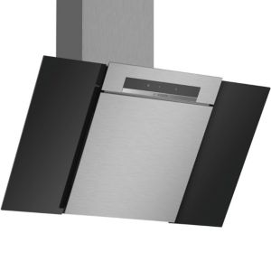 Bosch DWK87BM60B Stainless steel Chimney Cooker hood  (W) 800mm